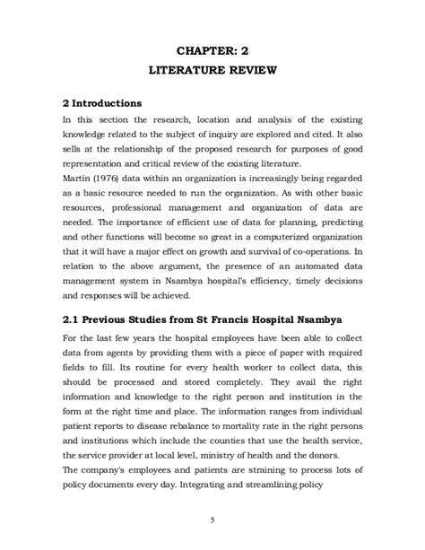 Review Related Literature Of Inventory System by Clinic Database And Software Management System