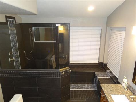 bathroom remodeling ta trading your unused tub for a walk in shower phoenix
