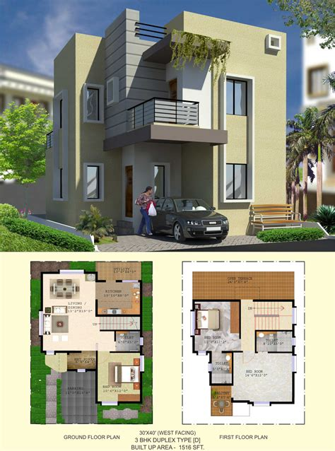 30 40 site house plan duplex 30 40 duplex house plans home design