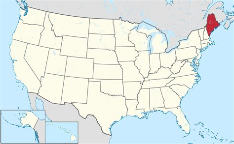 where is maine usa on map list of cities in maine