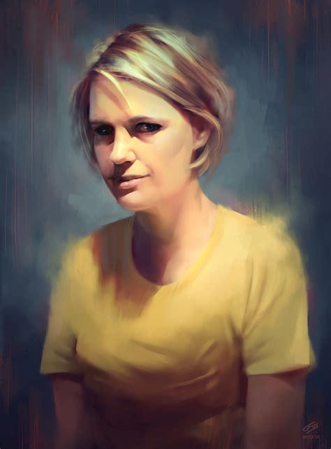 portrait painting portrait painting by wojciechfus on deviantart