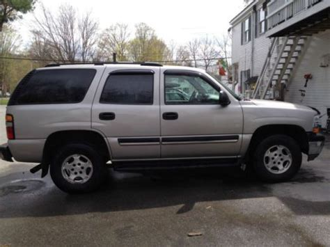 books on how cars work 2005 chevrolet tahoe electronic toll collection find used 2005 chevrolet tahoe ls sport utility 4 door 5 3l in lyme new hshire united