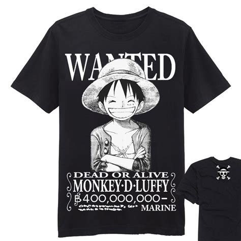 T Shirt Luffy Style 2 one luffy t shirt sleeve free shipping worldwide