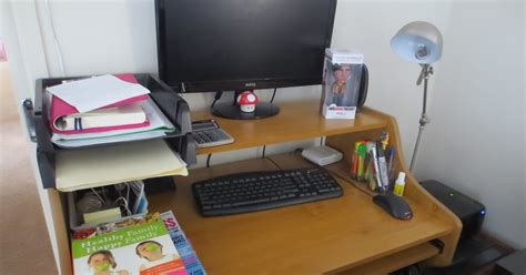 Skinny Budget How To Organize Your Office Desk Organizing Office Desk