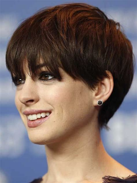 plaiting and styling pixie cuts 20 best anne hathaway pixie cuts anne hathaway pixie