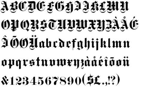 lettere gotiche alfabeto image gallery ecriture gothique