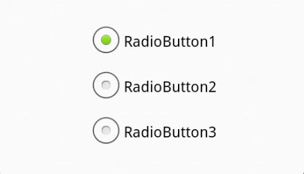 xml adding custom radio buttons in android stack overflow