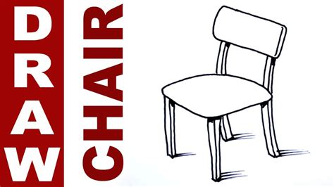 drawing of a chair how to draw a chair