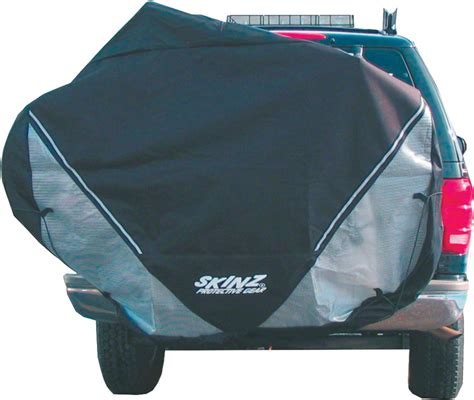 Bike Rack Covers by Skinz Rear Transport Cover Fits 2 4 Bikes Large Black In