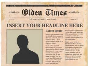 powerpoint newspaper templates editable powerpoint newspapers