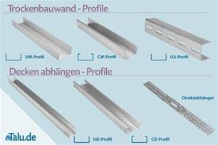 knauf trockenbau profile gipskarton und trockenbauprofile ma 223 e preise typen