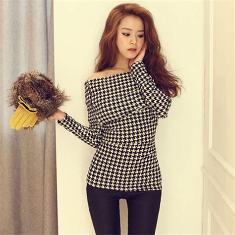 Mickey Katun Sweater Korea Fashion korean fashion clothing t shirts tops blouses maggie tang sleeve shoulder in
