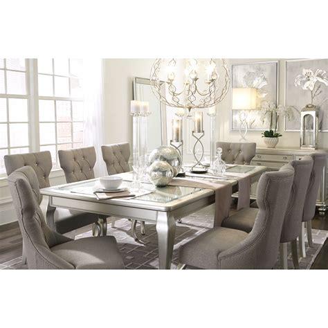 styleline coralayne  piece rectangular dining room