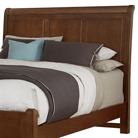 Bassett Furniture Headboards by Vaughan Bassett Bonanza Sleigh Headboard Olinde S