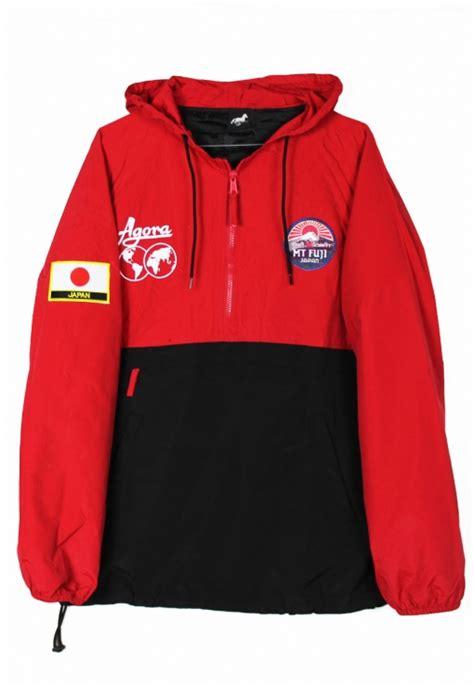 Jacket Shop Shop Agora Jackets Mt Fuji Pullover Jacket