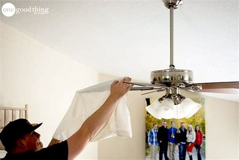 how to clean ceiling fans how to clean your ceiling fan in seconds 183 one good thing
