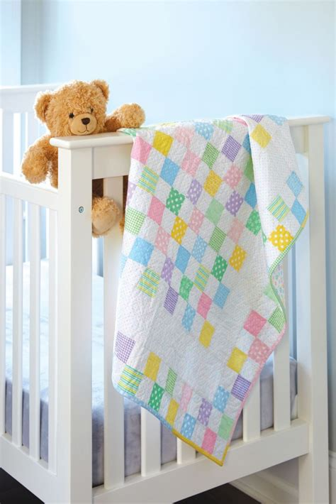 Easy Baby Quilts To Make by An Easy Baby Quilt To Make Up Quickly Quilting Digest