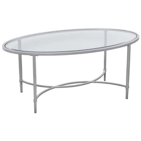oval glass coffee table usa