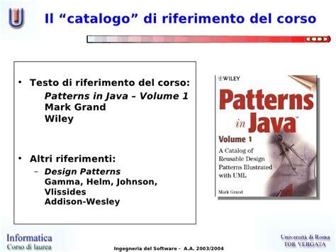 patterns in java grand lezione 00 introduzione ai design patterns