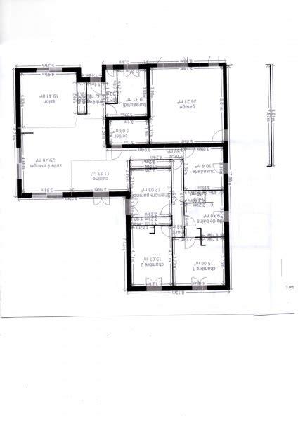 Maison En T Plain Pied by Conseils Pour Plan Maison En L De Plain Pied 4 Messages