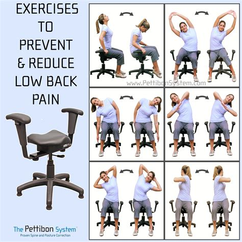 Pettibon Wobble Chair - amazing stretches for back relief the wobble chair