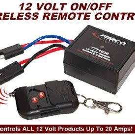 20 amp heavy duty 12 volt on/off wireless remote control