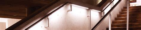 led handrail lighting system lighted railing lumenrail handrail lighting systems
