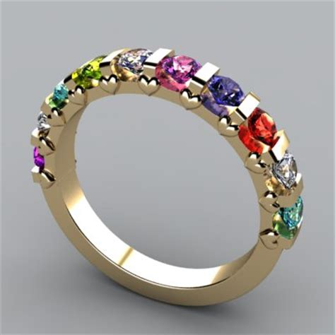 colorful rings rings for multicolor ring