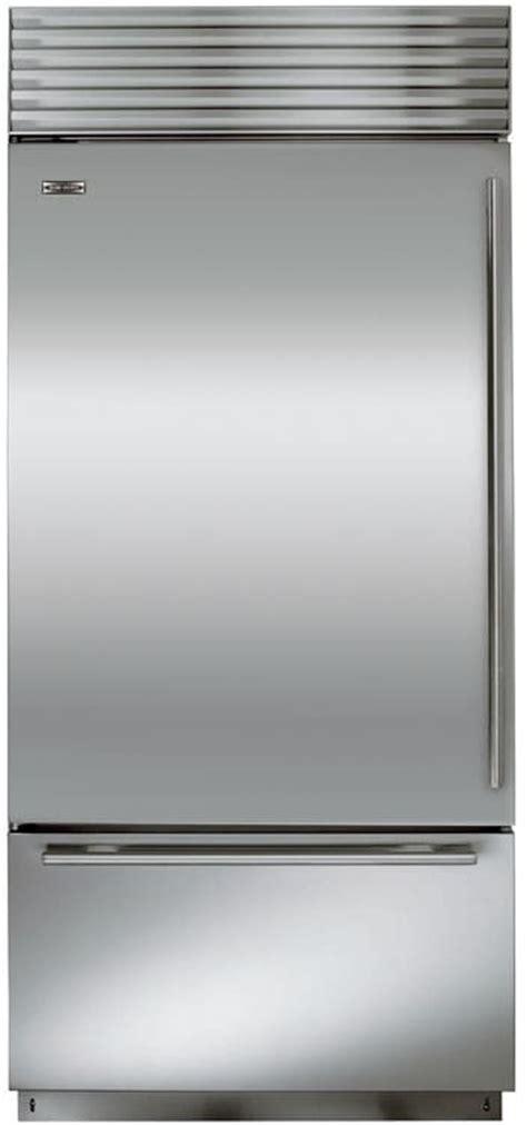 sub zero 36 inch kühlschrank sub zero bi36usph 36 inch built in bottom freezer