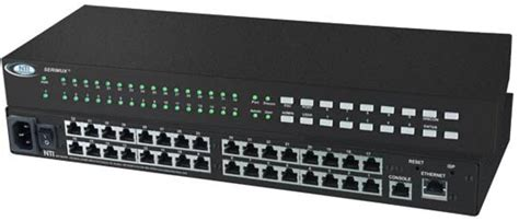 Switch Hub 32 Port console serial port switch ethernet rs232 device server router