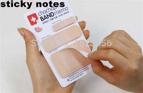 Sticky Notes Memo Stationery Kawaii Bandage Memo 64 best aliexpress images on drinkware