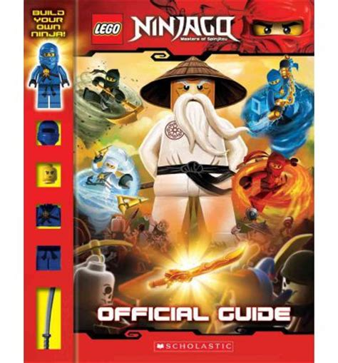 masters of books lego ninjago masters of spinjitzu official guide greg
