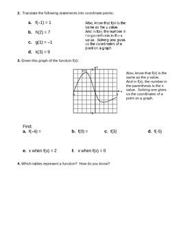 Function Notation Worksheet by Function Notation Worksheet 2 By Camfan54 Teachers Pay