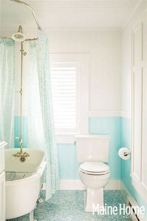 white and turquoise bathroom shower with white and turquoise tiles design ideas