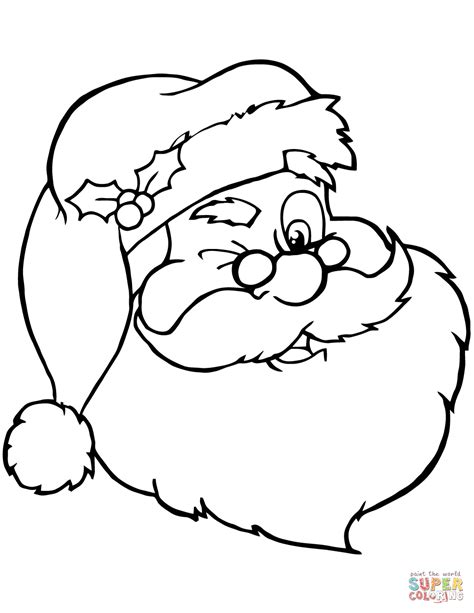 santa claus coloring pages santa claus printable coloring pages printable coloring page