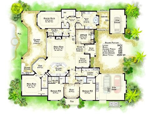 Luxury Floor Plans Houses Flooring Picture Ideas Blogule