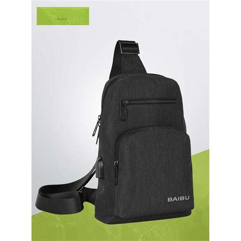 Tas Sling Bag Silver baibu tas selempang sling bag kasual j51 l9 z50 black jakartanotebook