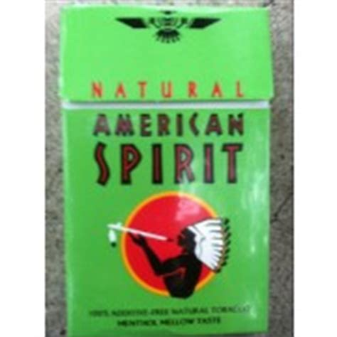 american spirit tobacco menthol light mellow
