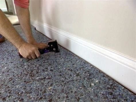 how to install wall to wall carpet yourself hgtv