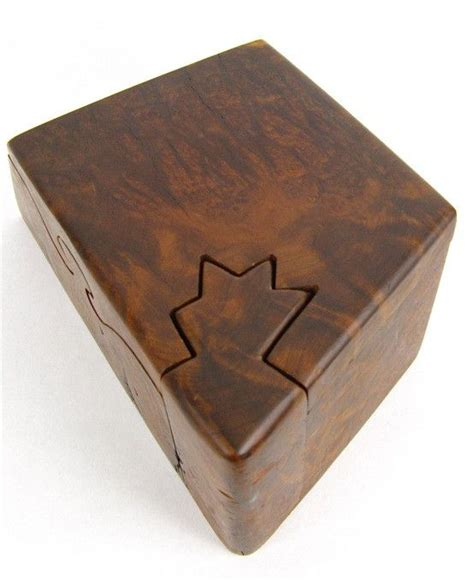 Handmade Puzzle Box - handmade vintage puzzle box project ideas boxes