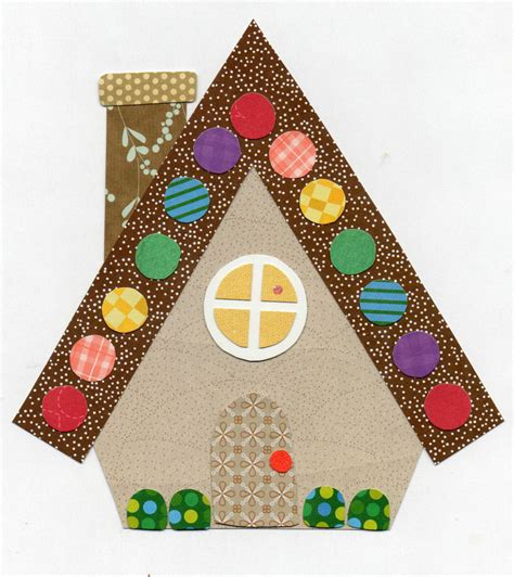 pattern gingerbread house free applique template pattern gingerbread house w christmas