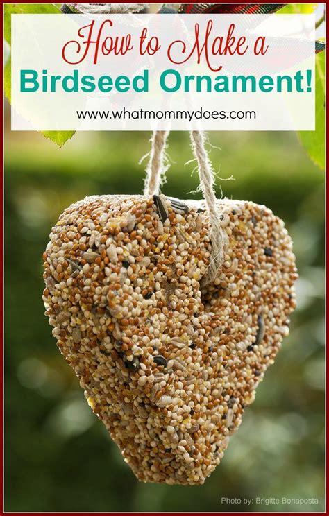 17 best ideas about bird seed ornaments on pinterest
