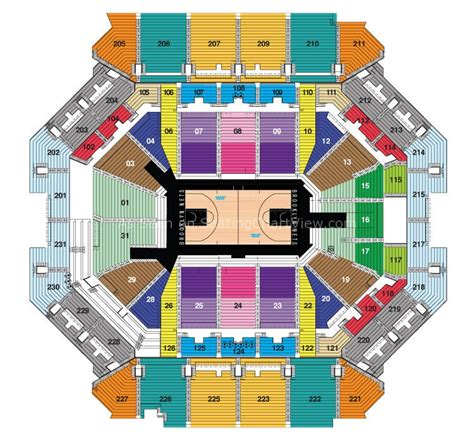 barclays center seating chart barclays center ny seating chart view