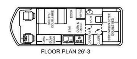 gmc motorhome floor plans converting the floor plan from 26 3 to 26 10 gmcmotorhome