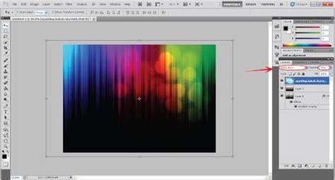 tutorial membuat desain grafis di photoshop membuat background spectrum di photoshop desainstudio