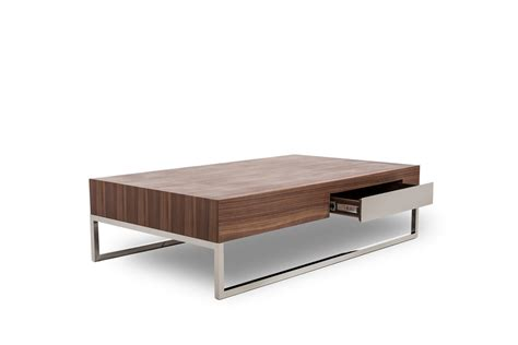 walnut coffee table agate modern walnut coffee table