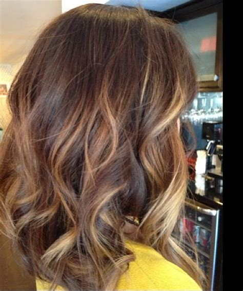 how to balayage on medium length hair balayage straight hair medium length