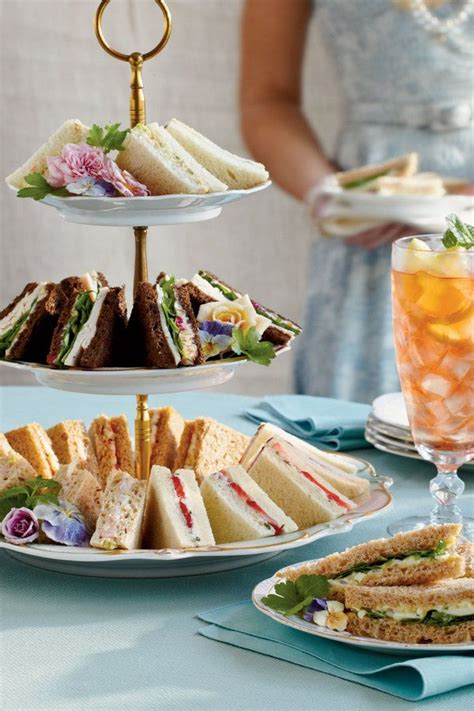 party food for a crowd food ideas crowd pleasing tea sandwiches easy elegant tea