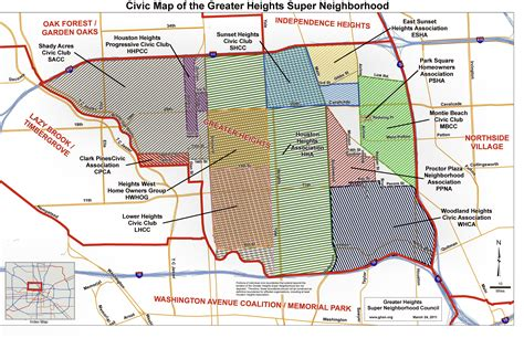 houston extraterritorial jurisdiction map heights houston map