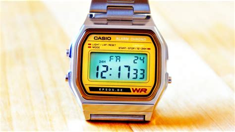 digital casio  review youtube